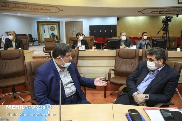 Senior managers of interior min. hold a meeting Jahangiri
