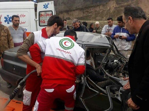 امدادرسانی به ۳۸۲ حادثه دیده در ۷۲ ساعت گذشته