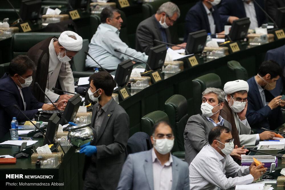 الجلسة العلنية لمجلس الشورى الإسلامي / صور