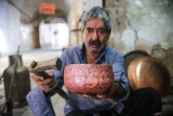 Coppersmiths' bazaar in Yazd