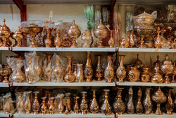 Yezd'in Bakırcılar Çarşısı'ndan fotoğraflar