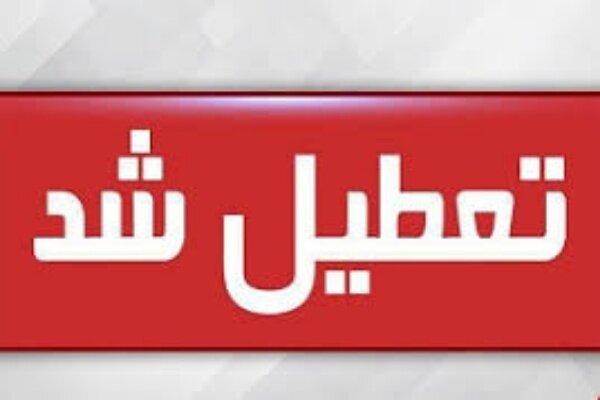 تعطیلی ادارات و بانکهای خوزستان ۳ روزه شد
