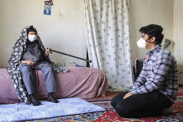 پیرزن ۹۵ ساله روستایی الگوی مسئولیتپذیری در پیشگیری از کرونا