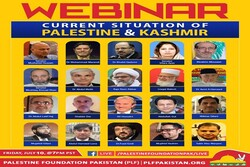 International solidarity with Palestine, Kashmir