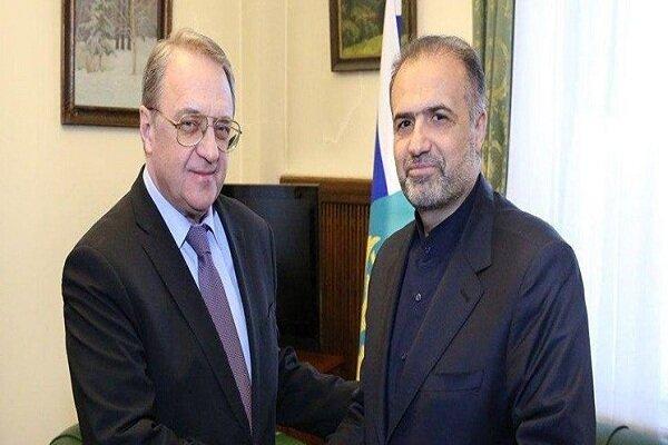 Iranian, Russian diplomats discuss regional developments