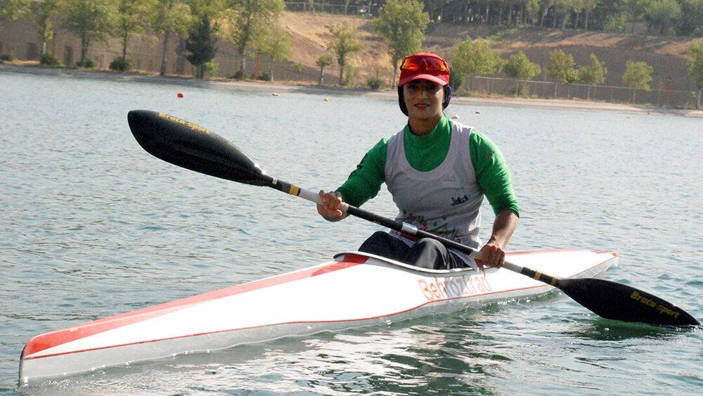 Shahla Behrouzi Rad falls in love with Para canoe