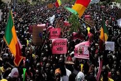 معترضان ساختمان رادیو تلویزیون مالی را اشغال کردند