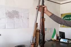 ۱۴ قبضه سلاح شکاری از متخلفان در قزوین کشف شد