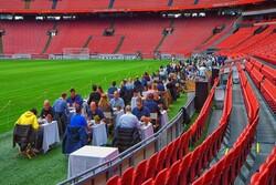Ajax'ın stadı restorana döndü!