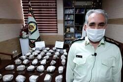 کشف محموله ۲۰ کیلوگرمی هروئین در جاده اهر- تبریز