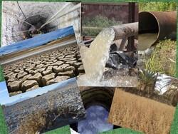 آبهای زیر زمینی در دشتهای استان زنجان کاهش یافته است