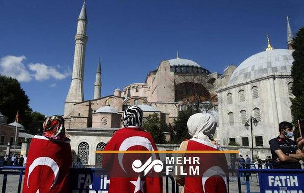 VIDEO: Istanbul's Hagia Sophia museum reconverted into mosque