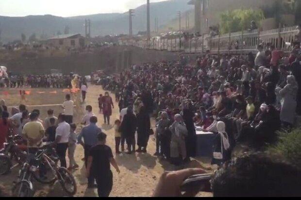 توبیخ مجریان جشنواره اسب اصیل در آمل