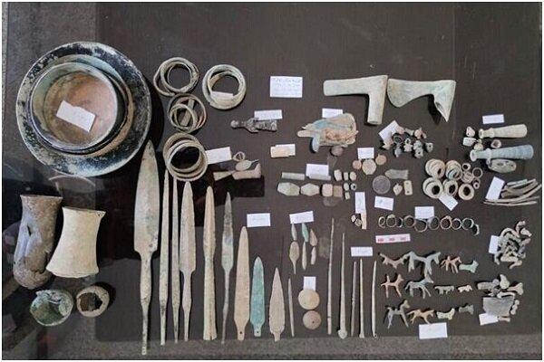 کشف مقتنيات أثرية في غرب ايران يعود تاريخها الى ما قبل الميلاد