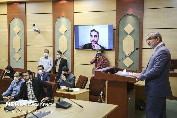 مؤتمر صحفي للمتحدث باسم مجلس صيانة الدستور / صور