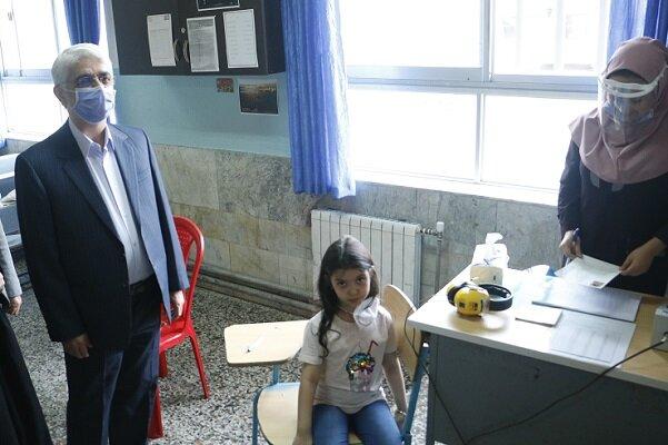 سنجش سلامت جسمانی و آمادگی تحصیلی ۱۰ هزار نوآموز در استان همدان