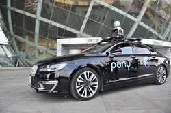 آزمایش خودروهای خودران چینی در شانگهای
