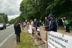وقفة إحتجاجية أمام السفارة السعودية في برلين / فيديو