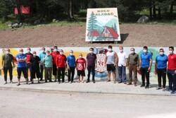 تمرین فرنگیکاران تیم ترکیه در ارتفاع ۳هزار متری