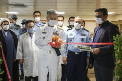 Air Force opens new hospital in Tehran for COVID-19 patients