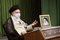 رہبر معظم انقلاب اسلامی کا پارلیمنٹ کے نمائندوں سے براہ راست خطاب