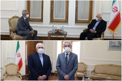 Outgoing Spanish amb. meets with FM Zarif