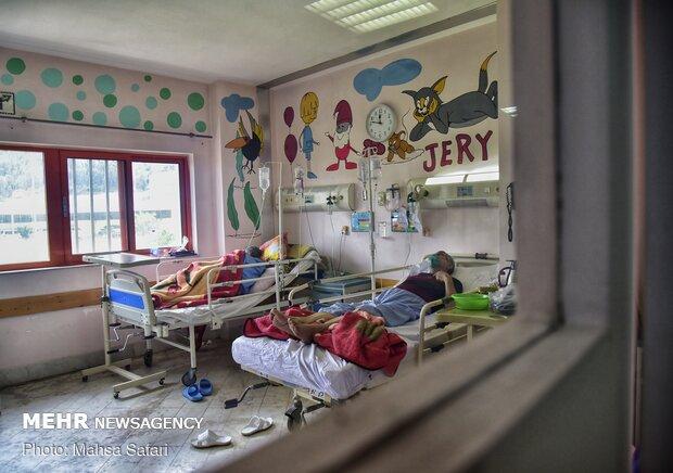 Special coronavirus wards in Golestan province