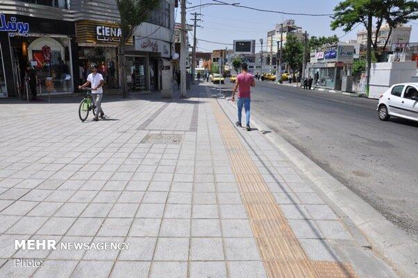 ۸ منطقه به جمع مناطق دارای طرح مصوب بهسازی معابر پیاده رو پیوستند