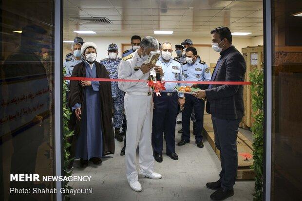 افتتاح بخشهای جدید بیمارستان بعثت نهاجا