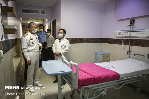 Armi Air Force's new hospital in Tehran for COVID-19 patients.