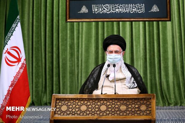 لقاء بالفيديو بين قائد الثورة وأعضاء مجلس الشورى الإسلامي الحادي عشر / صور