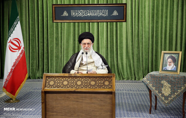 Leader urges unity as key to overcome enemies' plots