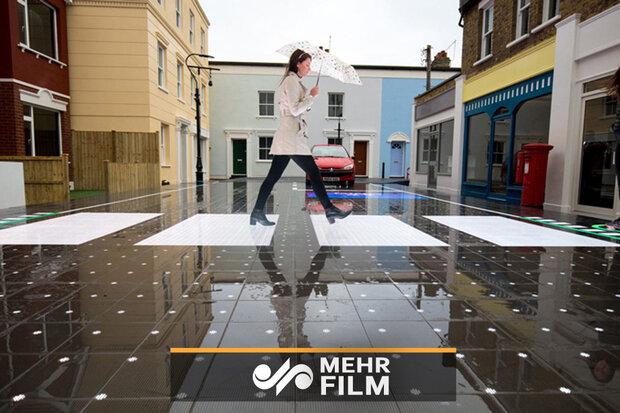 VIDEO: New generation of sidewalks generate electricity