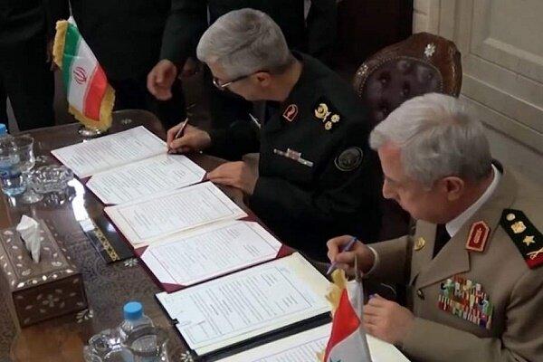توافقنامه نظامی و امنیتی تهران-دمشق؛ یک گام بزرگ به پیش