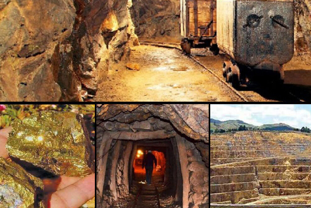 دولت سهم تکاب از معادن طلا را پرداخت کند