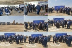عملیات ساخت فازهای ۷ و ۸ تصفیهخانه فاضلاب جنوب تهران کلنگزنی شد