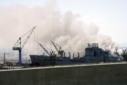 انفجار در یک فروند ناو جنگی آمریکا/ ۲۱ ملوان مجروح شدند