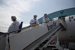 Disinfecting passenger planes against coronavirus