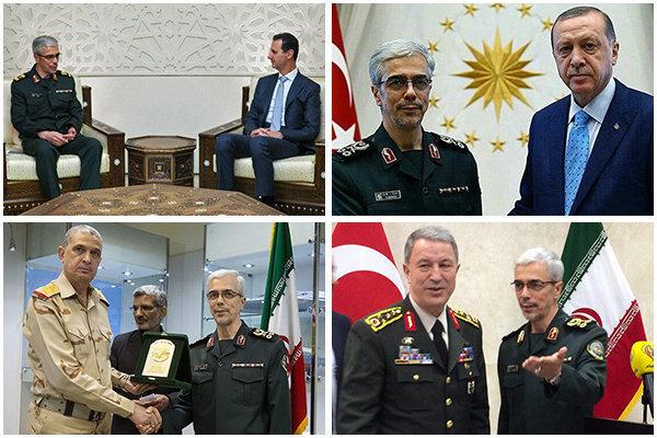 دیپلماسی نیروهای مسلح از چین تا آمریکای جنوبی/ مرحله جدید همکاری نظامی ایران با سوریه