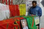 پیکر شهید مدافع حرم علی علیزاده در دلیجان تشییع شد