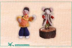 تبدیل شخصیتهای انیمیشنهای کانون به عروسک