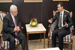 بشار اسد نامه محمود عباس را پاسخ داد