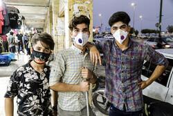 Bender Abbas halkı maske takmayı ihmal etmiyor