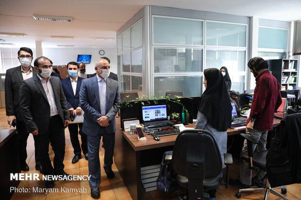 بازدید وزیر آموزش و پرورش از خبرگزاری مهر
