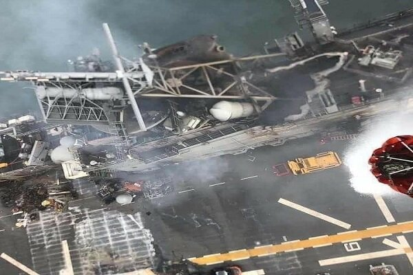 """كلمة """"قاآني"""" بشأن انفجار حاملة الطائرات الأميركية وانعكاساتها في العالم الافتراضي..."""