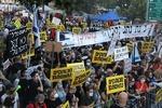 هزاران معترض خواستار استعفای نتانیاهو شدند