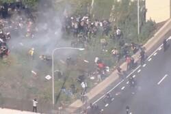 معترضان در فیلادلفیای آمریکا علیه خشونت ورزی پلیس شکایت کردند
