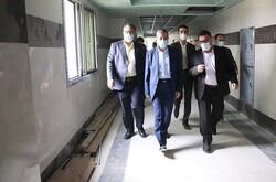 بیمارستان شهدای هستهای بوشهر مراحل پایانی کار خود را میگذراند