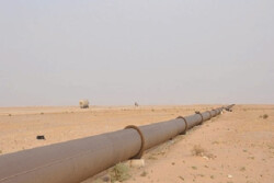 خط انتقال نفت عبوری از داخل شهر قزوین جابجا میشود