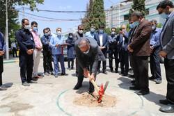 کلنگ احداث بزرگترین اورژانس جنوب کشور در شیراز به زمین زده شد